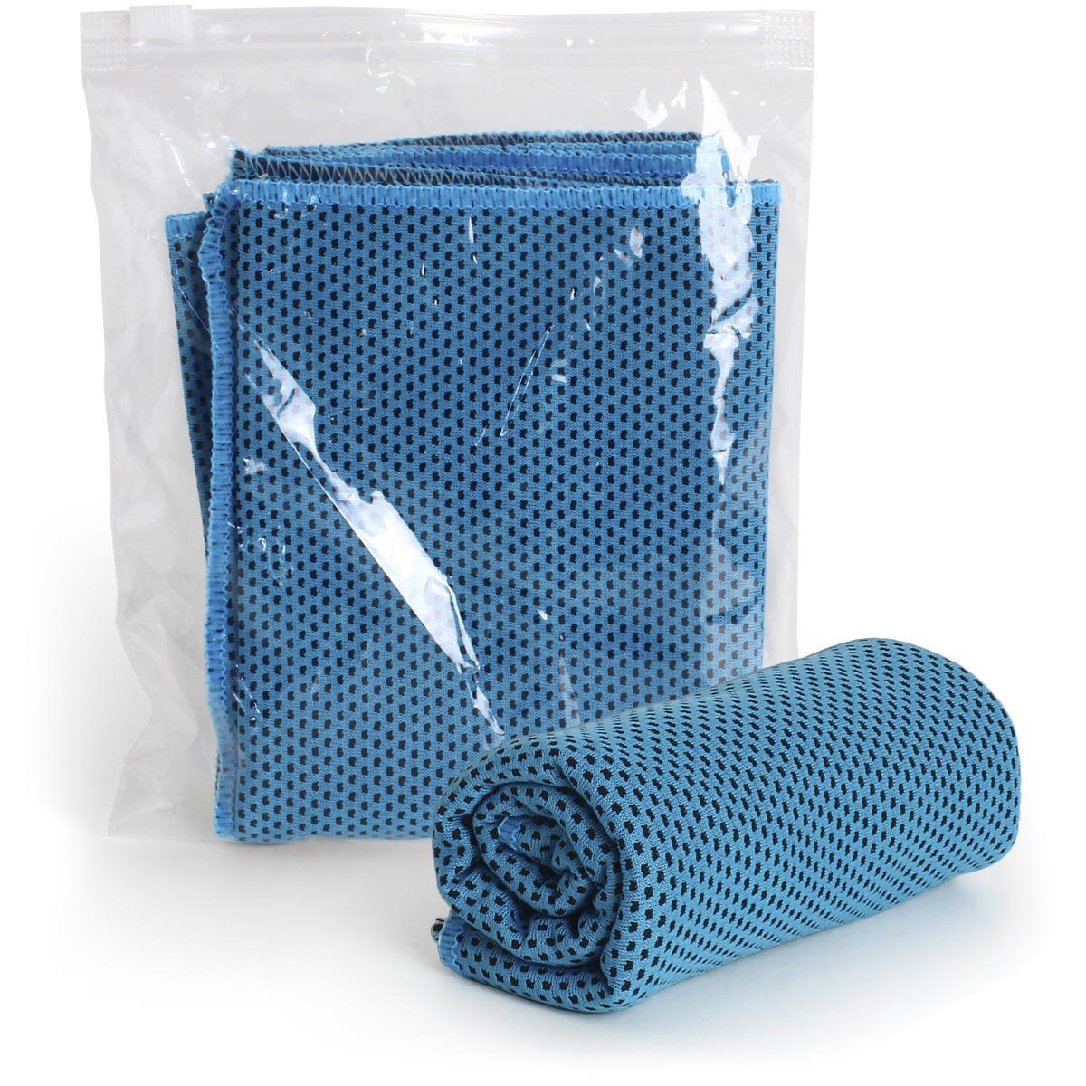 4x Mikrofaser Kühltuch Cooling Handtuch Kalt Ice Towel Eishandtuch Kühlhandtuch