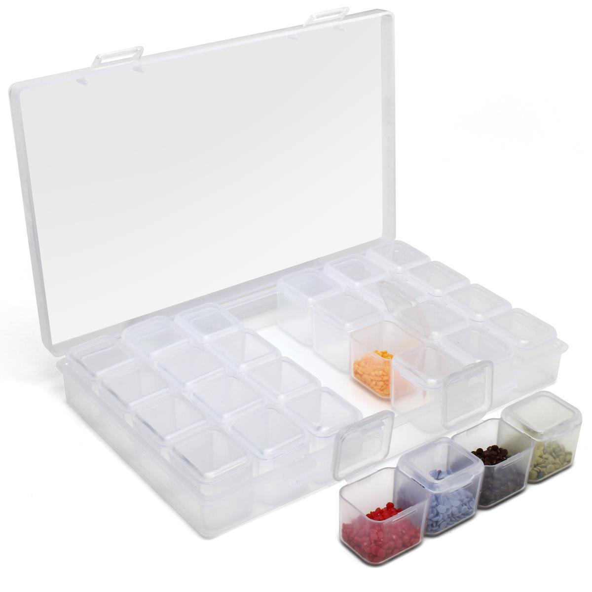 28-Diamond-Painting-Storage-Boxes-Bead-Organiser-Tray-Art-Beads-Embroidery-Case thumbnail 4