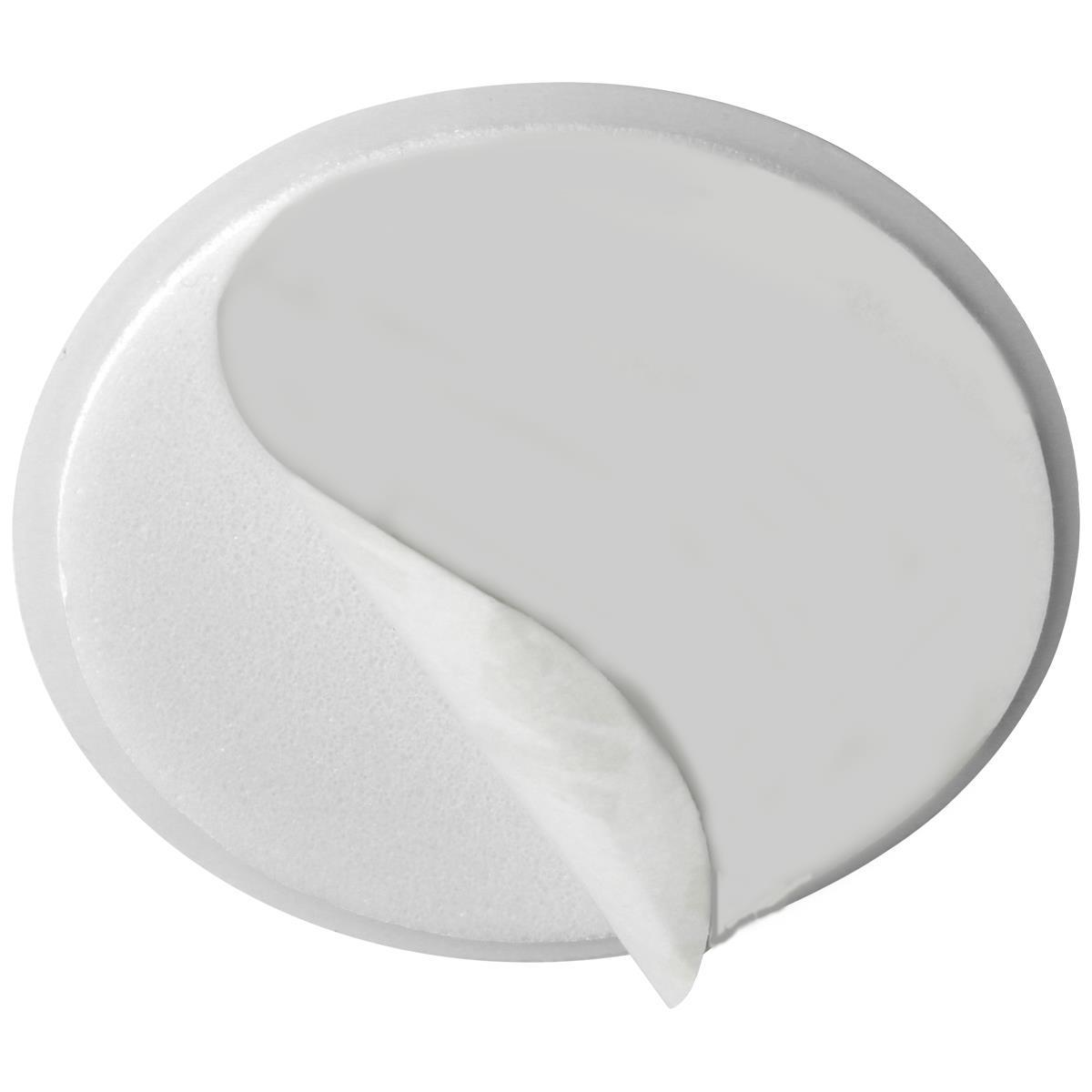 5-x-Wall-Protector-Self-Adhesive-Rubber-Stop-Door-Handle-Bumper-Guard-Stopper miniatuur 5