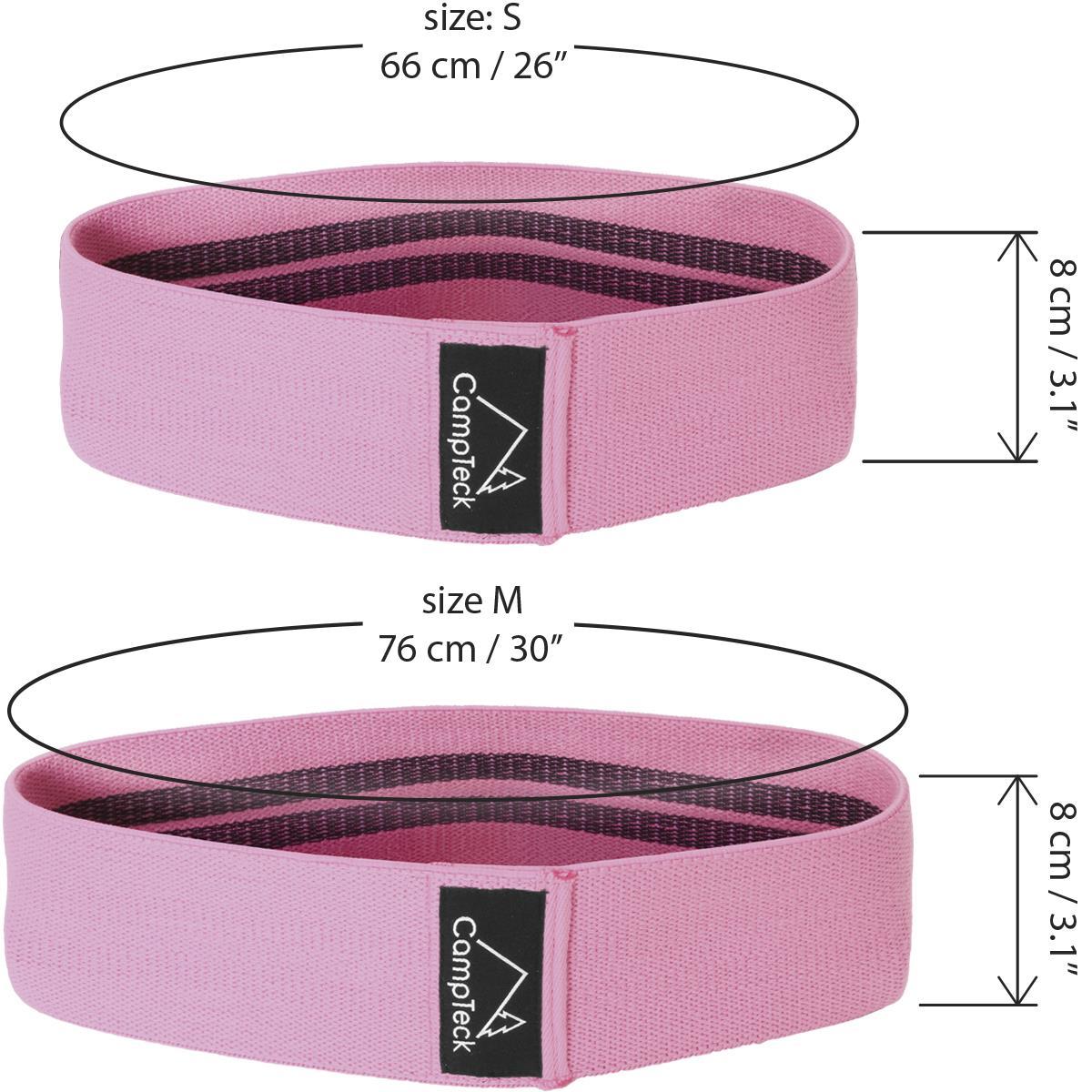 Hip-Band-Circle-Loop-Rotation-Glute-Resistance-Thrust-Leg-Squat-Gym-Exercise miniatuur 19