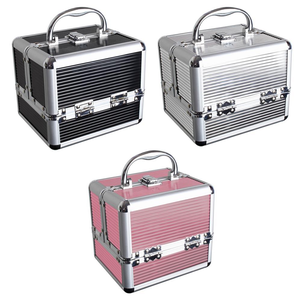 Coffret Maquillage Vanity Case Beauty Case Boite De Rangement Maquillage Valise Ebay