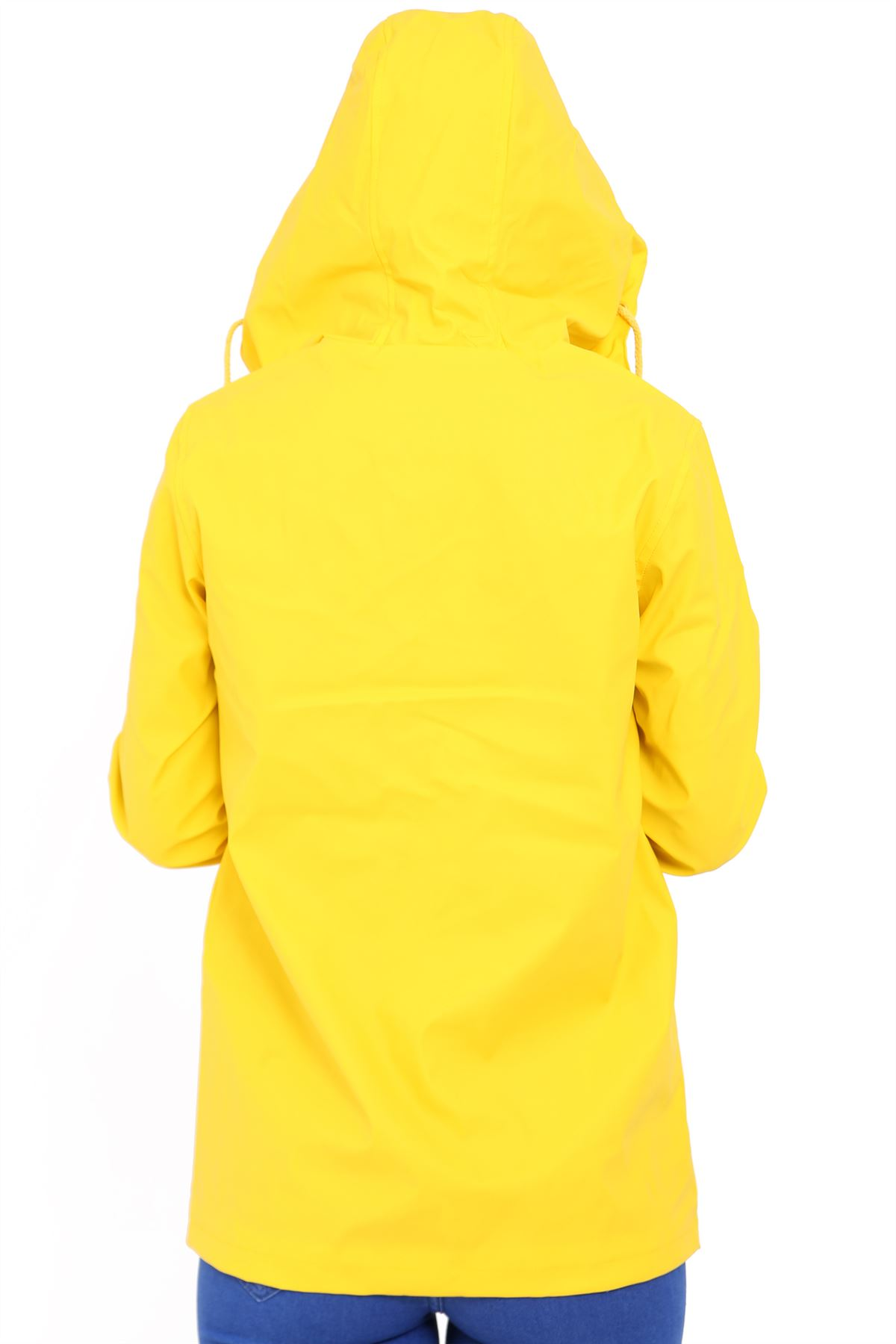 New-Womens-Lightweight-Rain-Trench-Coat-Jacket-Parka-Daily-Rain-Mac thumbnail 7