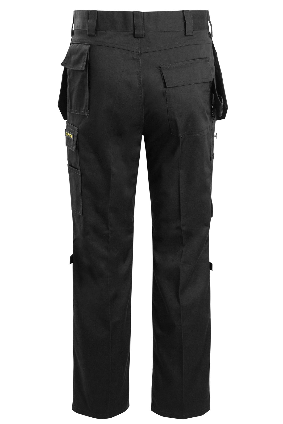Mens Waterproof Knee Pad Hiking Pants Cargo Combat Trousers Bottoms Casual Work