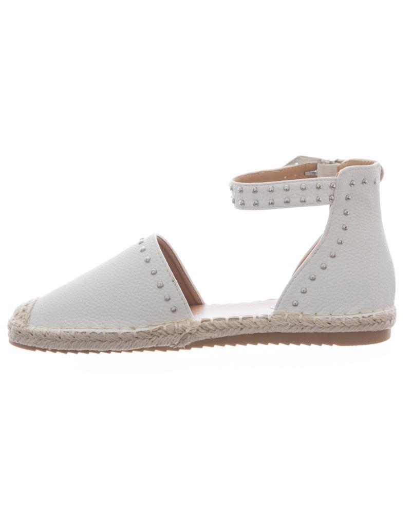 les nouvelles de femmes parsemées de nouvelles plats cheville espadrilles mesdames les sandales les chaussures d'été 5b1e68