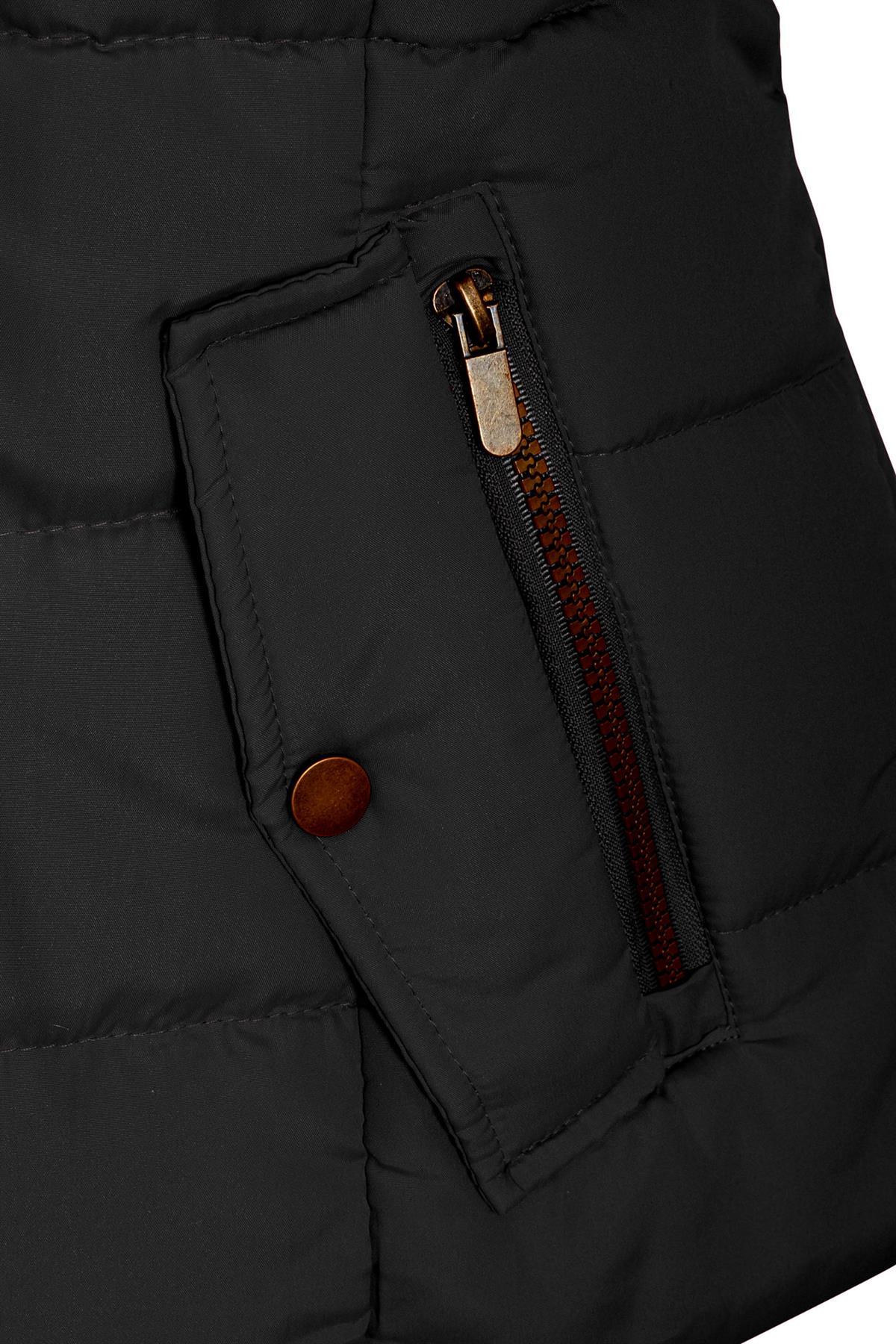 Shelikes-Ladies-Padded-Faux-Fur-Trim-Hood-Hooded-Jacket-Winter-Coat-Size-6-to-16 miniatuur 3
