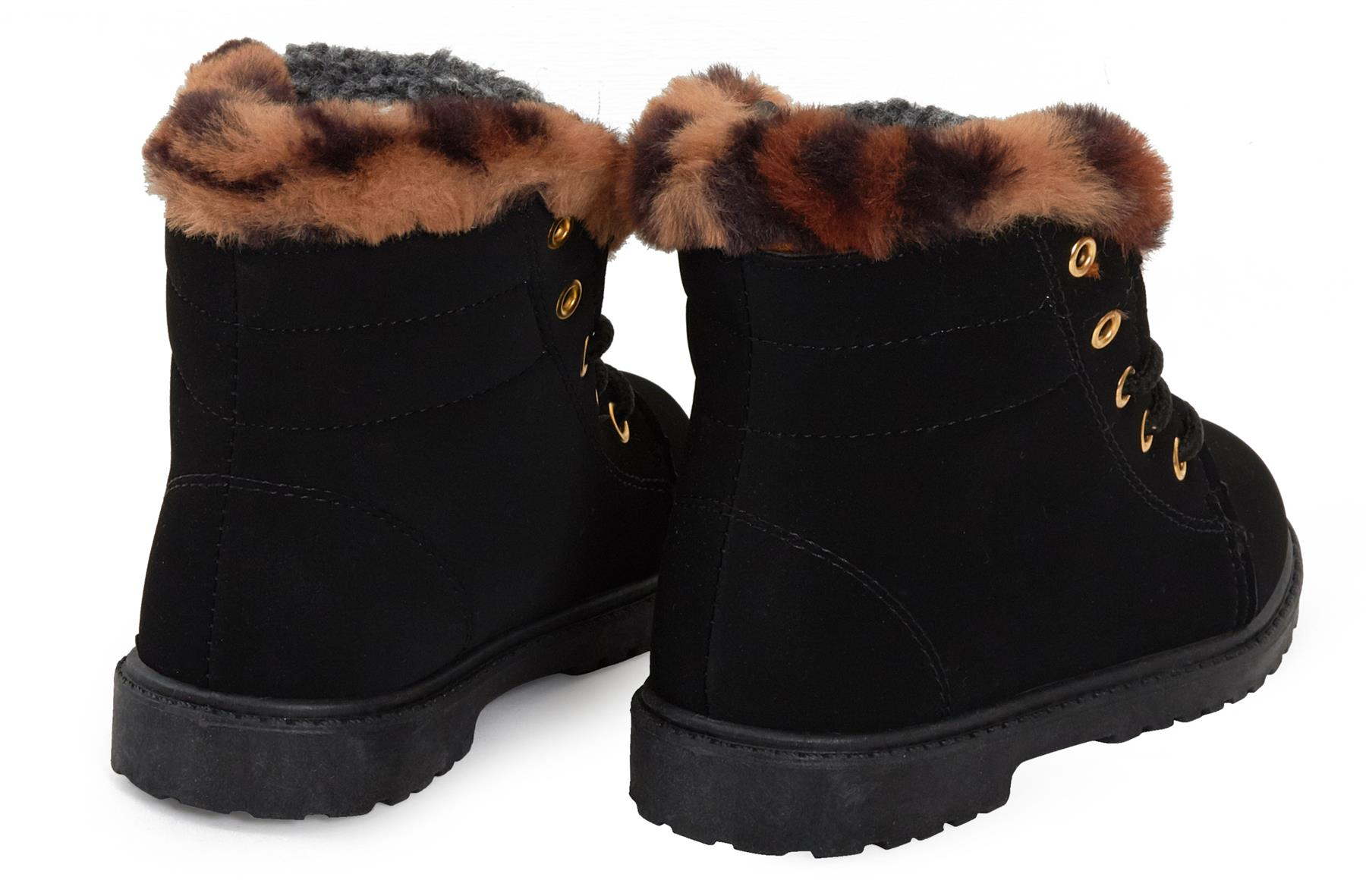 Girls Boys Girls Suede Faux Lining Winter Warm Ankle Snow Boots Outdoor  Urban Walking Clothes, Shoes & Accessories bibliotecaep.mil.pe