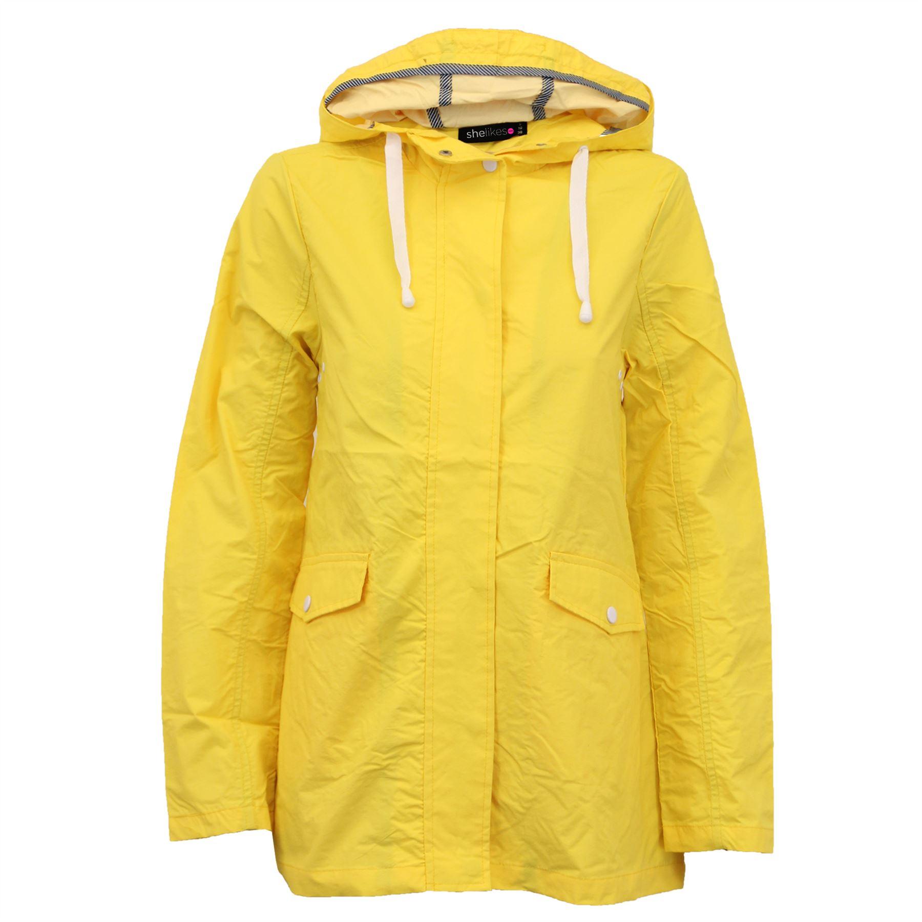 New-Womens-Lightweight-Rain-Trench-Coat-Jacket-Parka-Daily-Rain-Mac thumbnail 16