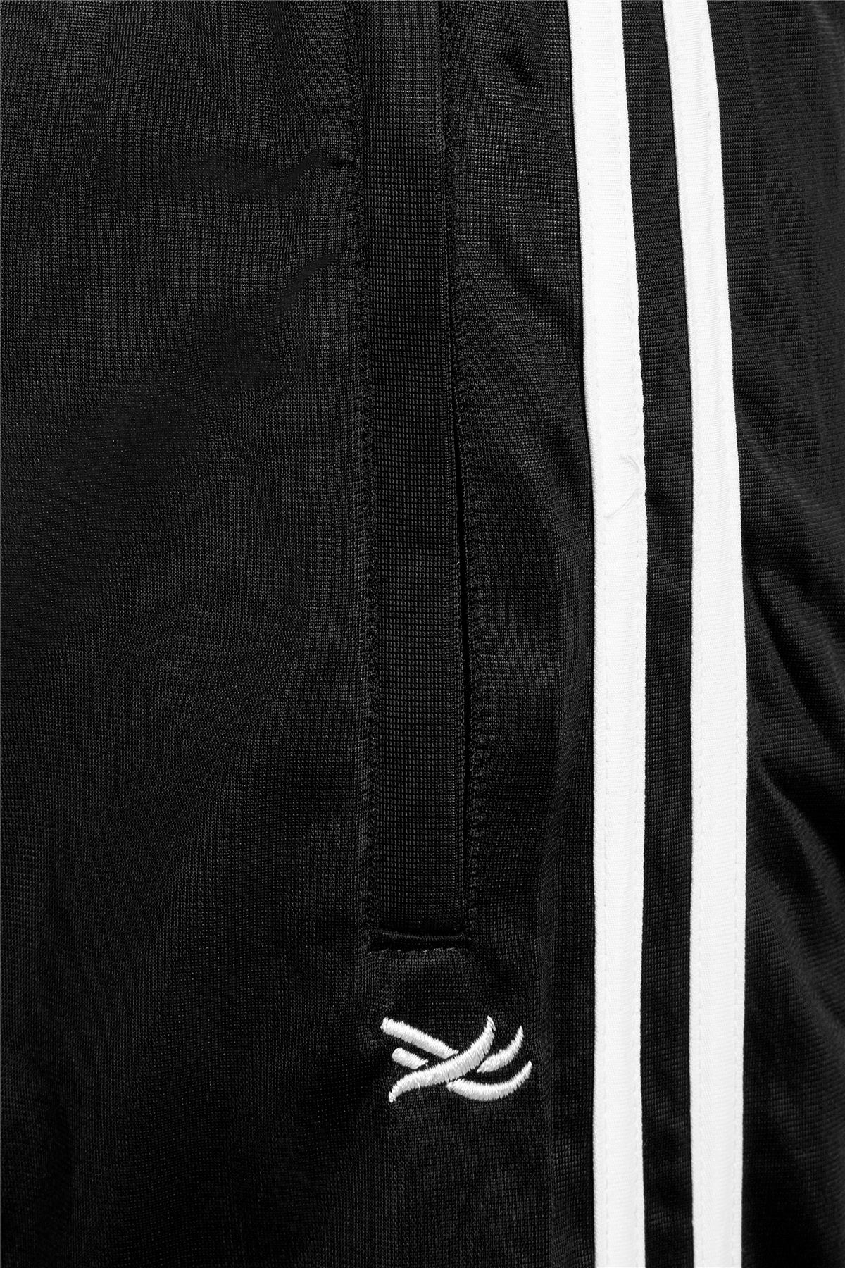 Mens-Tracksuit-Joggers-Jogging-Striped-Gym-Sports-Silky-Bottoms-Trousers-Pants thumbnail 9