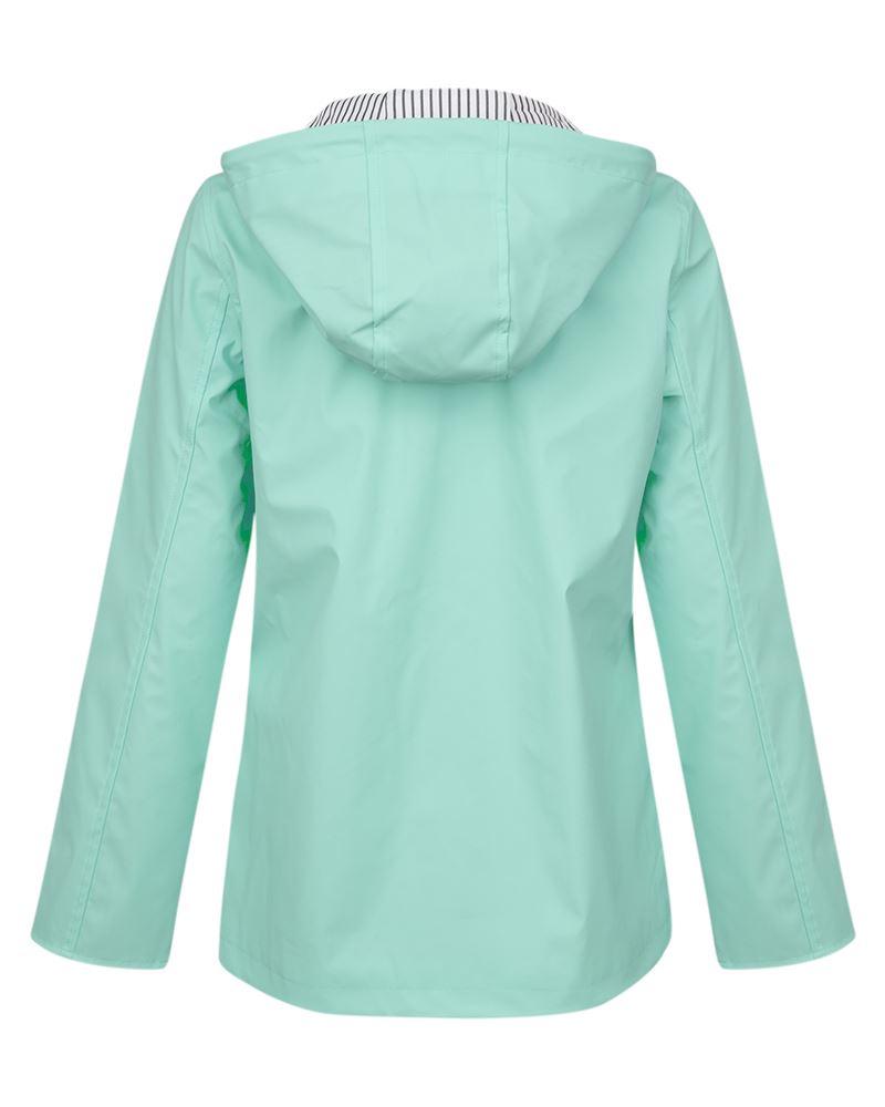 Womens-Ladies-Yellow-Festival-Water-proof-Rain-Outdoor-Mac-Raincoat-Jacket-Size thumbnail 3