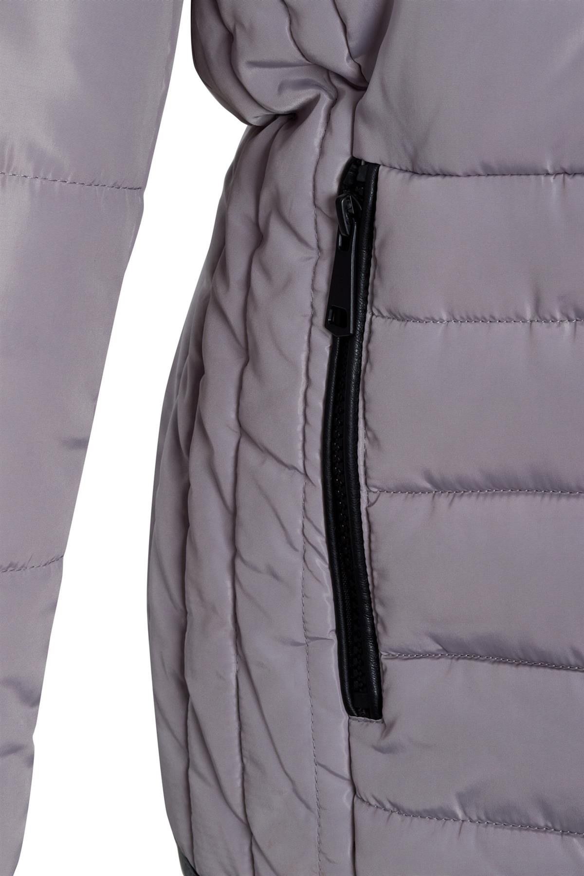 Shelikes-Womens-Ladies-Quilted-Padded-Winter-Warm-Fur-Parka-Jacket thumbnail 9