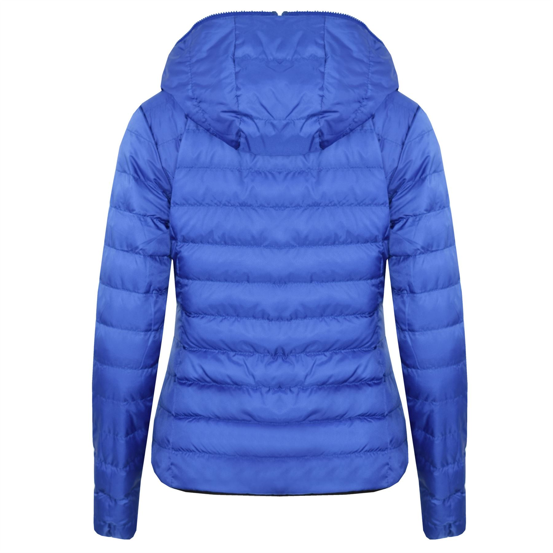 New-Womens-Hooded-Reversible-Puffa-Zip-Up-Quilted-Padded-Coat-Jacket thumbnail 9