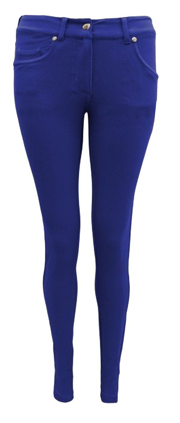 1f16bd853f0 WOMENS LADIES SKINNY FIT STRETCH JEANS JEGGINGS LEGGINGS TROUSERS ...