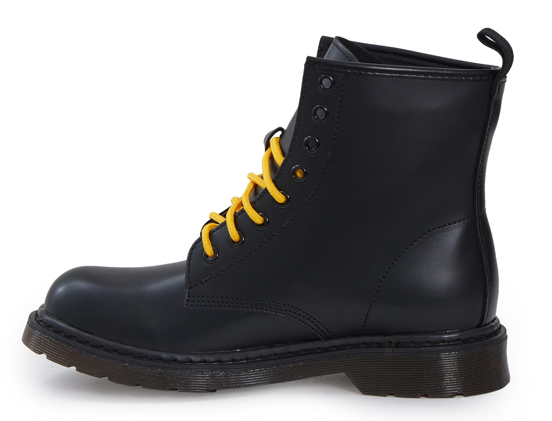 Shelikes-Womens-Ankle-Boots-Vintage-Combat-Army-Flat-Lace-Up-Work-Military-Biker thumbnail 5