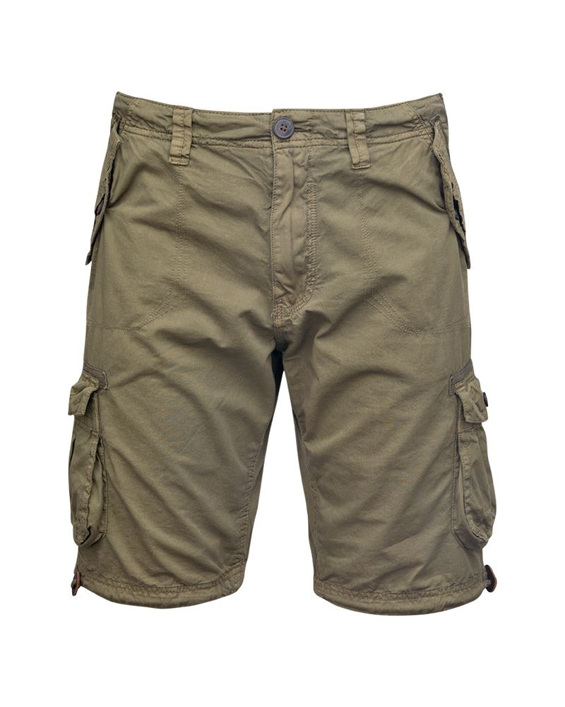 Mens-Knee-Length-Cargo-Utility-Pocket-Shorts-Summer-Hiking-Cotton-TwillPants thumbnail 12