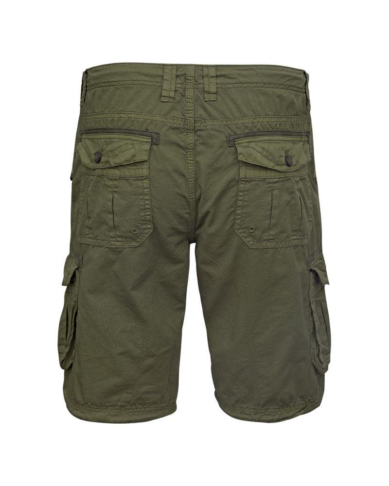 Mens-Knee-Length-Cargo-Utility-Pocket-Shorts-Summer-Hiking-Cotton-TwillPants thumbnail 7
