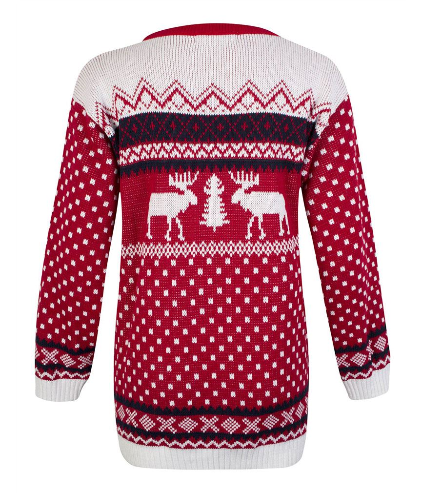 Womens-Unisex-Xmas-Christmas-Rudolph-Novelty-Reindeer-Jumper-Pullover-Sweater