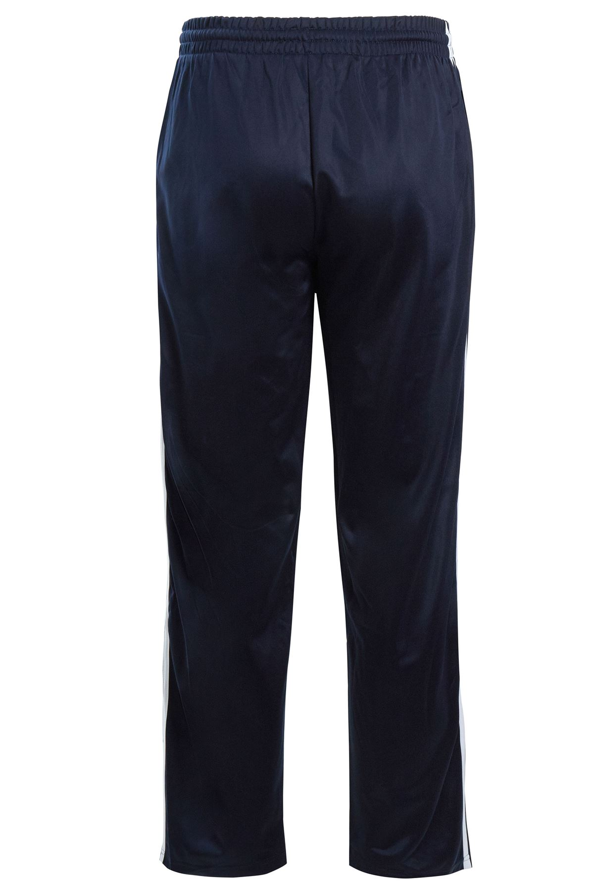 Mens-Tracksuit-Joggers-Jogging-Striped-Gym-Sports-Silky-Bottoms-Trousers-Pants thumbnail 16