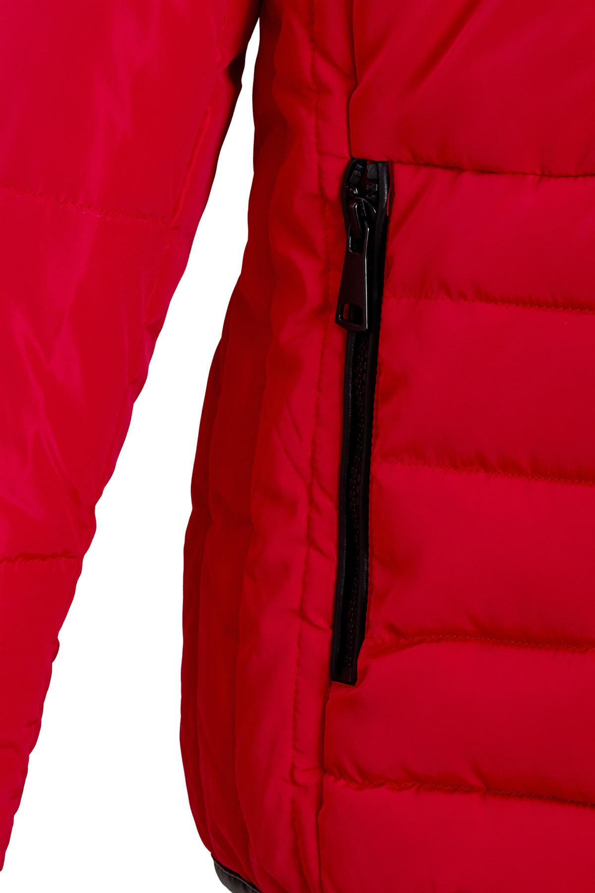 Shelikes-Womens-Ladies-Quilted-Padded-Winter-Warm-Fur-Parka-Jacket thumbnail 12