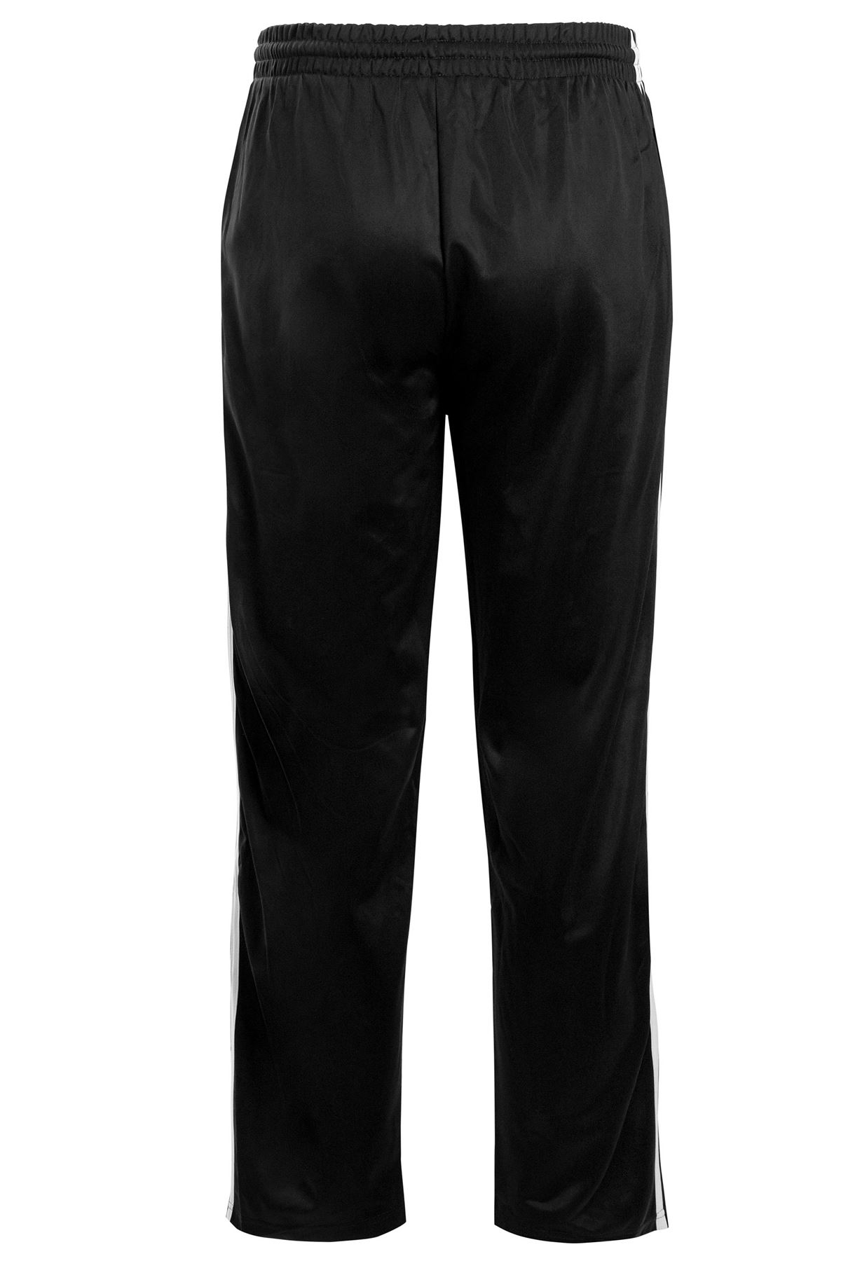 Mens-Tracksuit-Joggers-Jogging-Striped-Gym-Sports-Silky-Bottoms-Trousers-Pants thumbnail 11