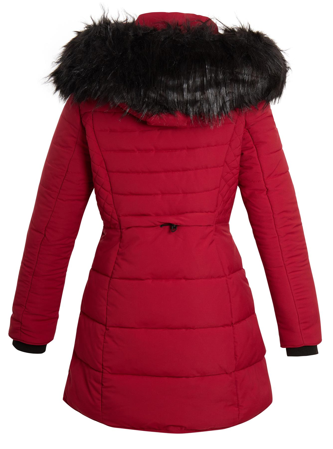 Ladies Fitted Parka