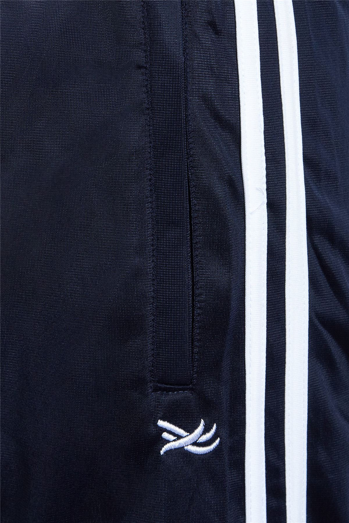 Mens-Tracksuit-Joggers-Jogging-Striped-Gym-Sports-Silky-Bottoms-Trousers-Pants thumbnail 14