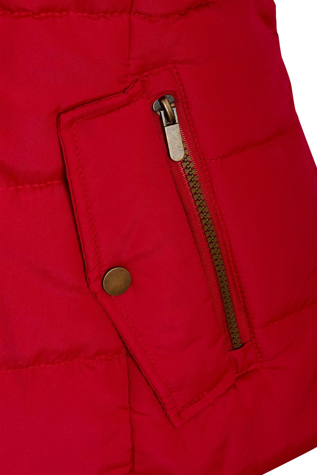 Shelikes-Ladies-Padded-Faux-Fur-Trim-Hood-Hooded-Jacket-Winter-Coat-Size-6-to-16 miniatuur 12