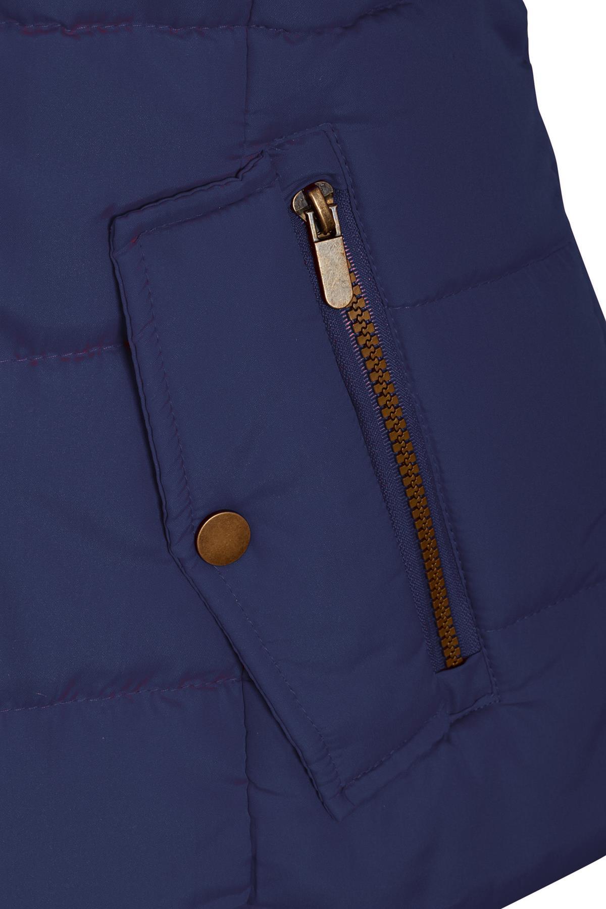 Shelikes-Ladies-Padded-Faux-Fur-Trim-Hood-Hooded-Jacket-Winter-Coat-Size-6-to-16 miniatuur 6