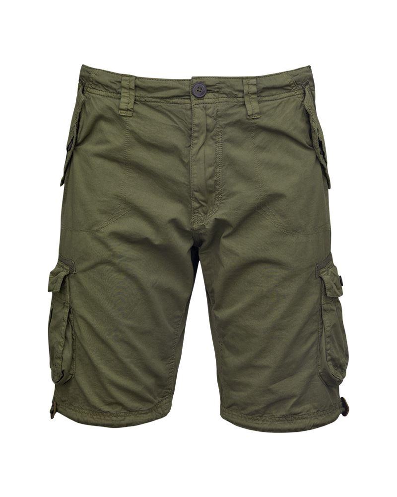 Mens-Knee-Length-Cargo-Utility-Pocket-Shorts-Summer-Hiking-Cotton-TwillPants thumbnail 6