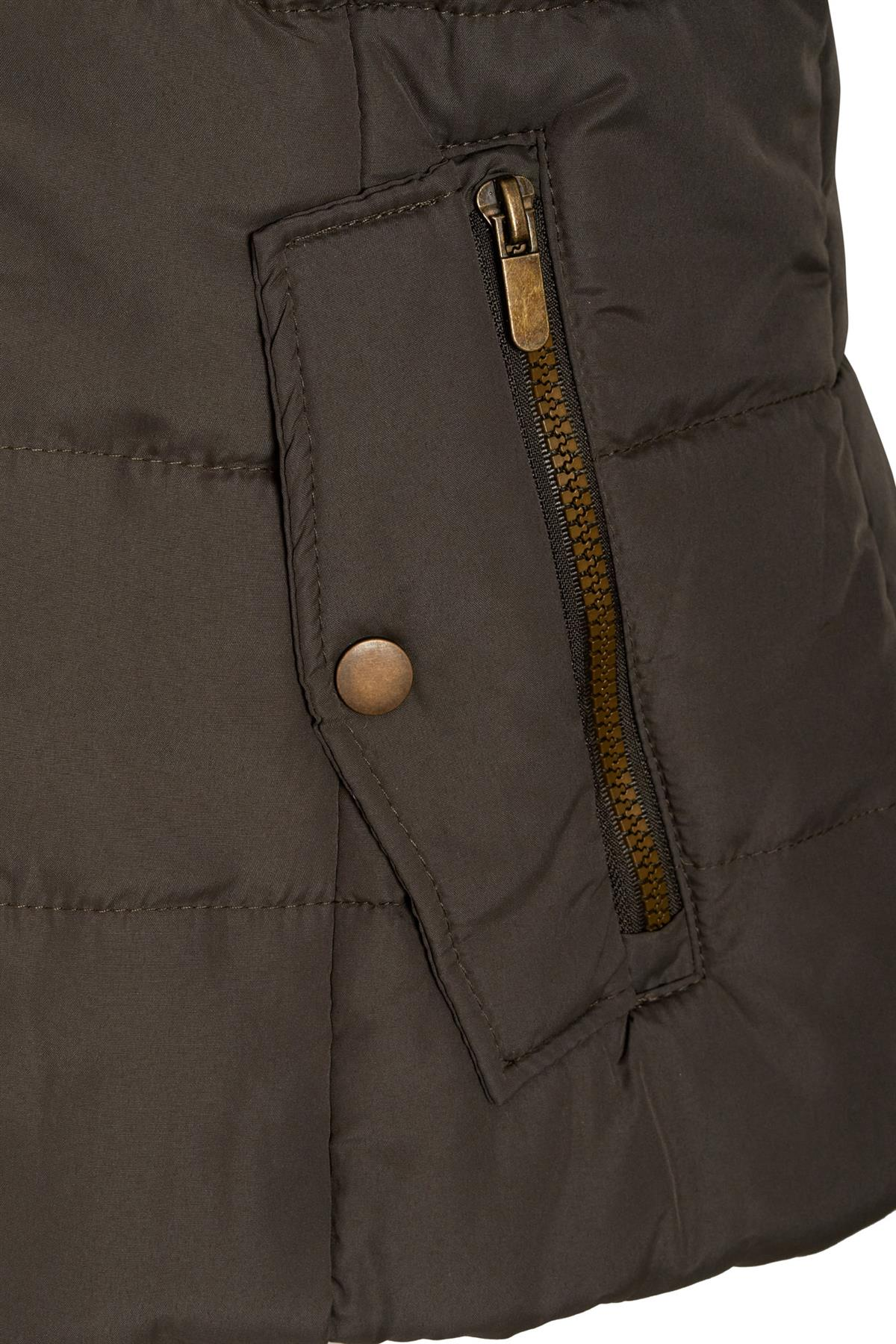 Shelikes-Ladies-Padded-Faux-Fur-Trim-Hood-Hooded-Jacket-Winter-Coat-Size-6-to-16 miniatuur 9