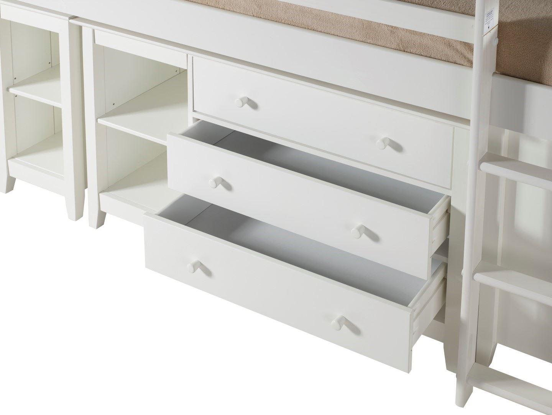 Birlea Cotswold Cabin Bed Sleep Station Midi Sleeper 3ft
