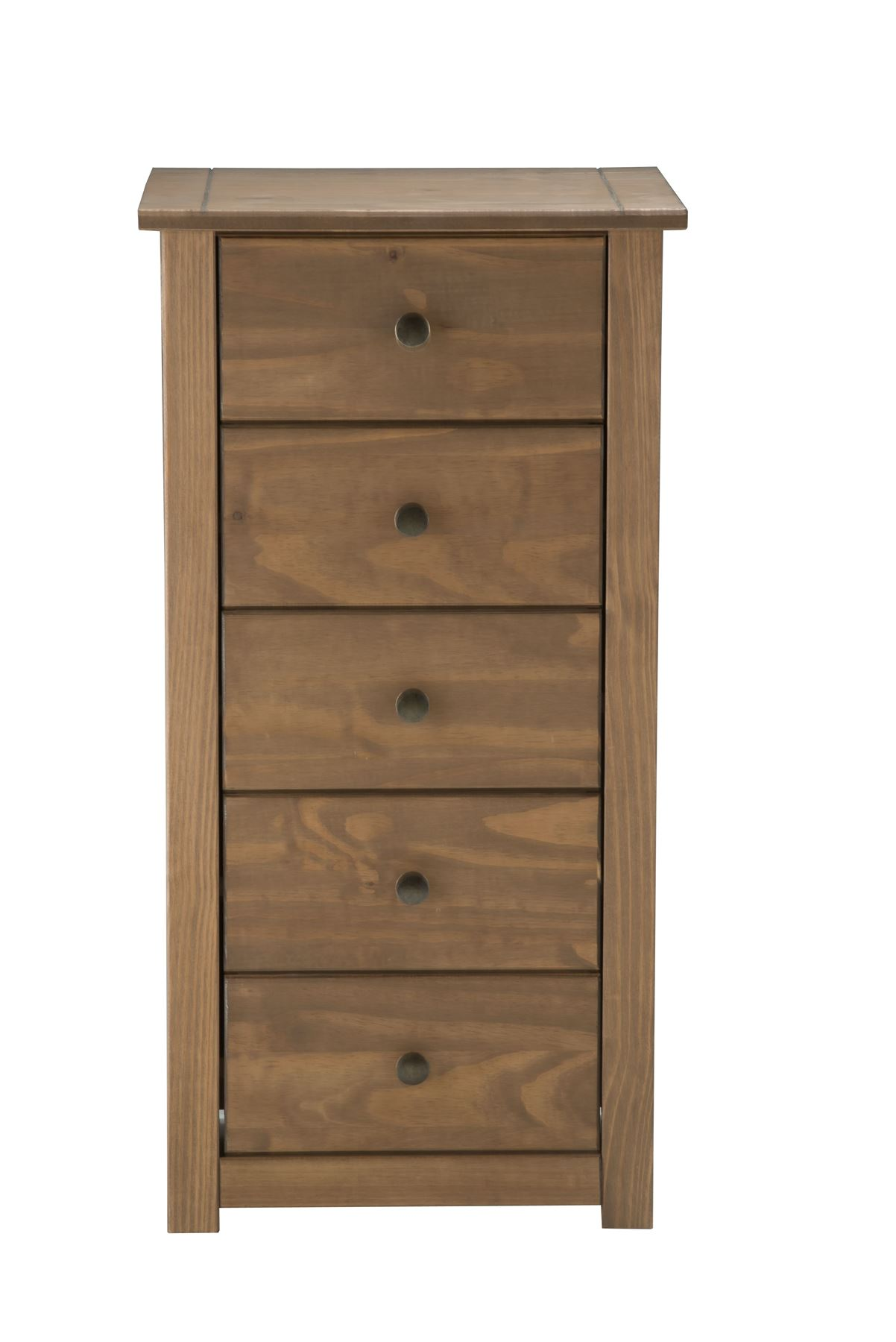 Birlea Santiago 5 Drawer Chest Drawers Corona Mexican Pine Solid Wood Furniture Ebay