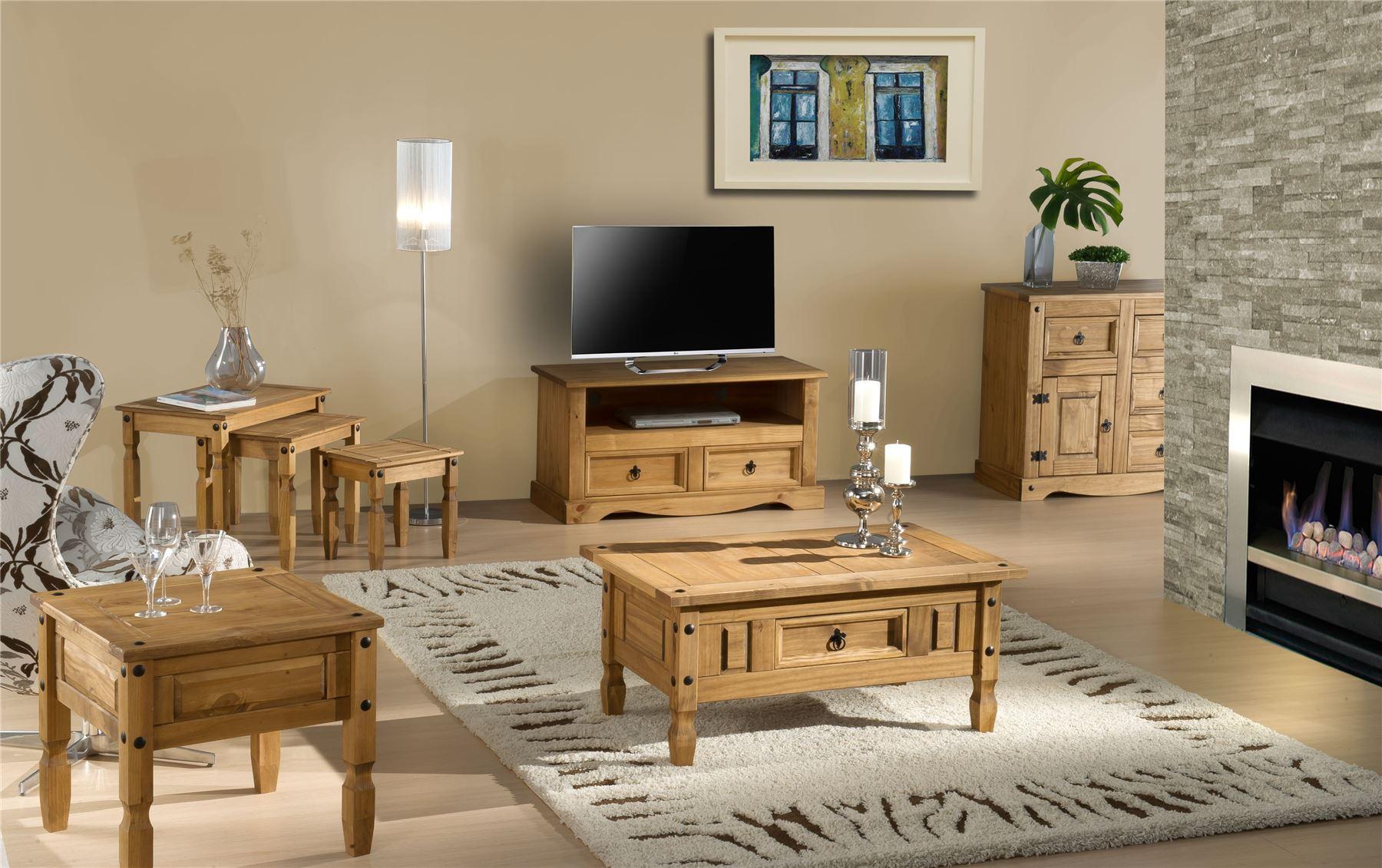 Birlea Furniture Corona 2 Door Flat Screen TV Unit.