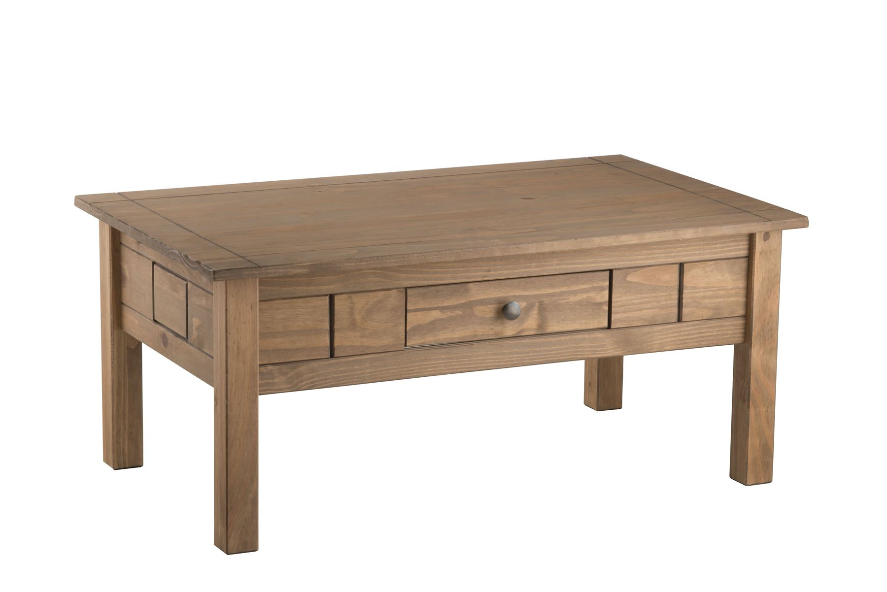 Birlea Santiago Coffee Table with Drawer Corona Mexican Solid Wood