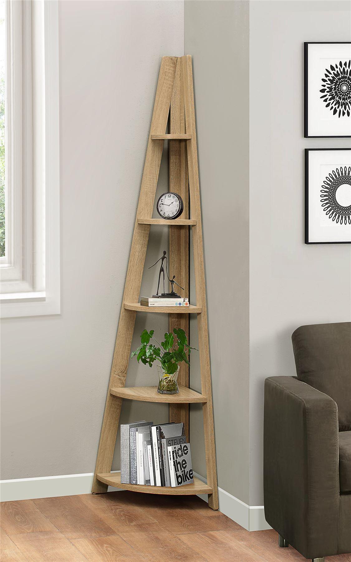 Top 12 Amazing Corner Ladder Shelves For Your Home/Office |Corner Ladder Bookshelf