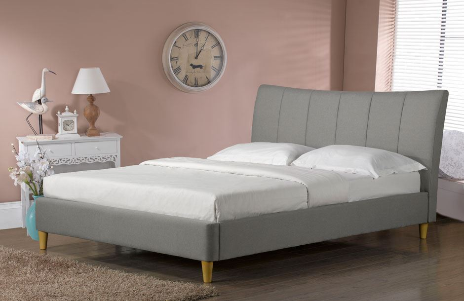 sweet dreams nelson bed frame king size 5ft 150cm scandinavian