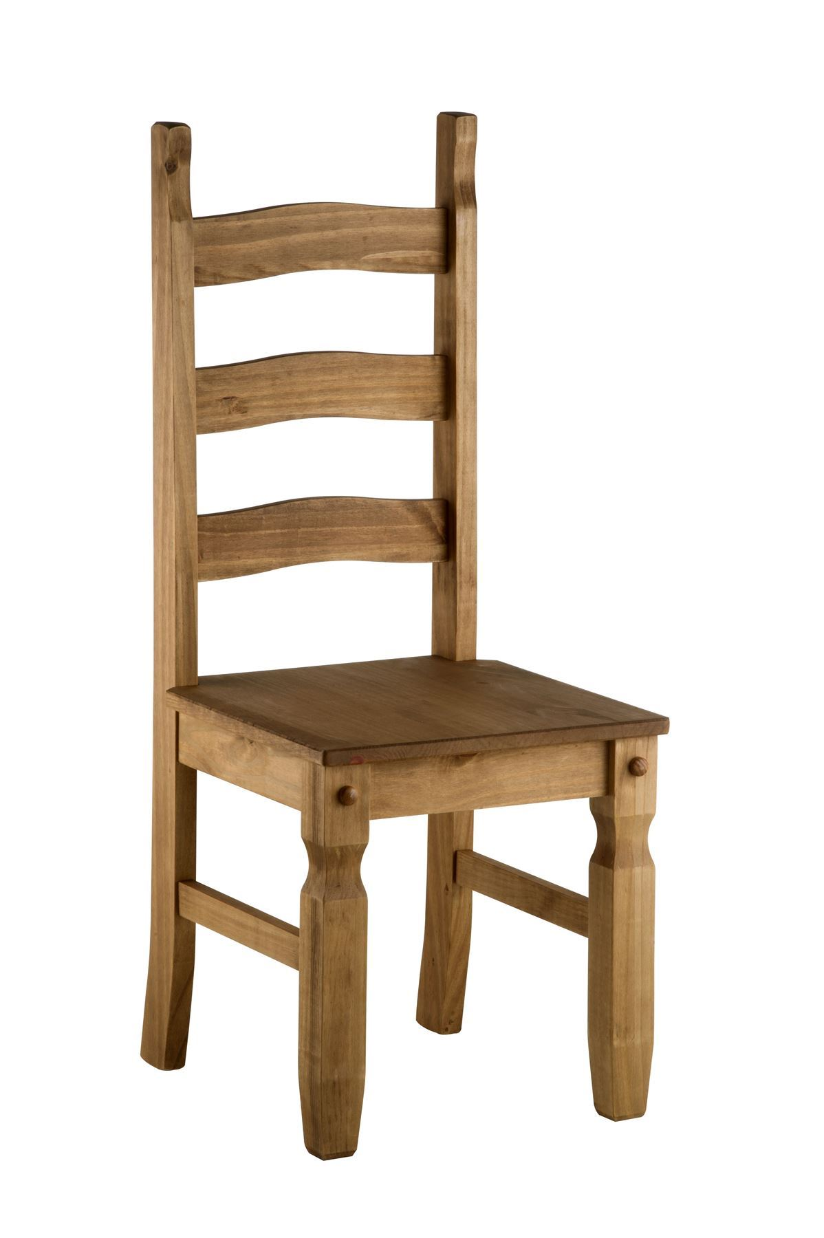 Pair Of 2 Corona Mexican Pine Solid Wood Dining Chair EBay