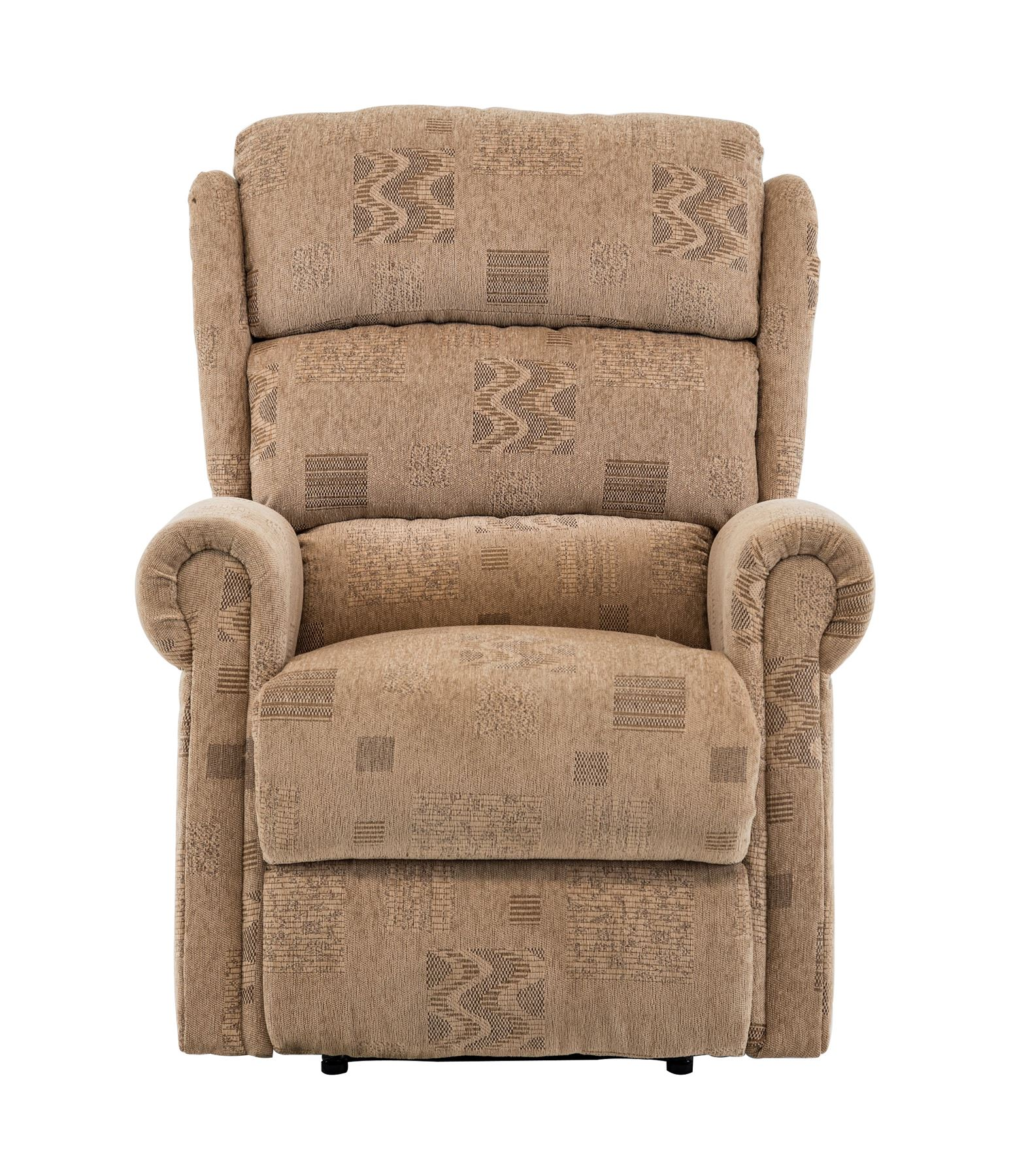 Birlea Manhattan Manual Recliner Arm Reclining Chair Wheat