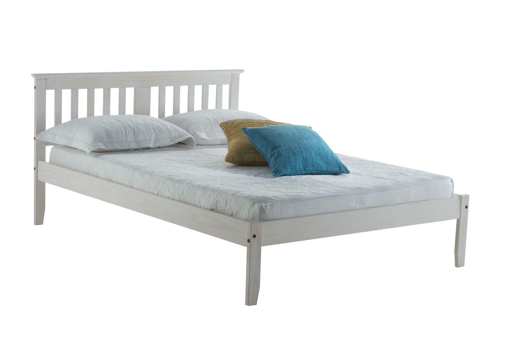 Birlea Double Salvador Solid Pine 4ft6 135cm Wood Bed