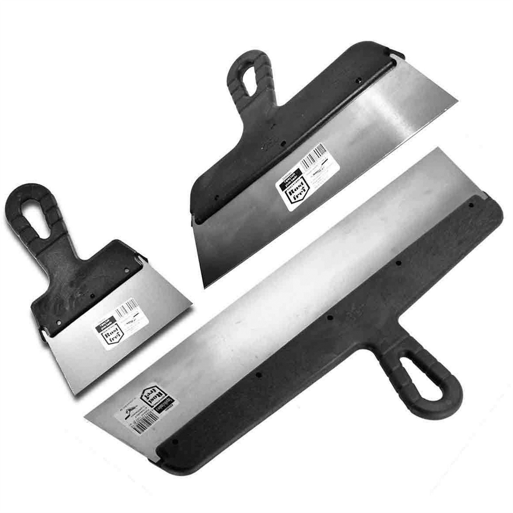 Stainless Steel Filling Knife Drywall Plastering Spatula Taping