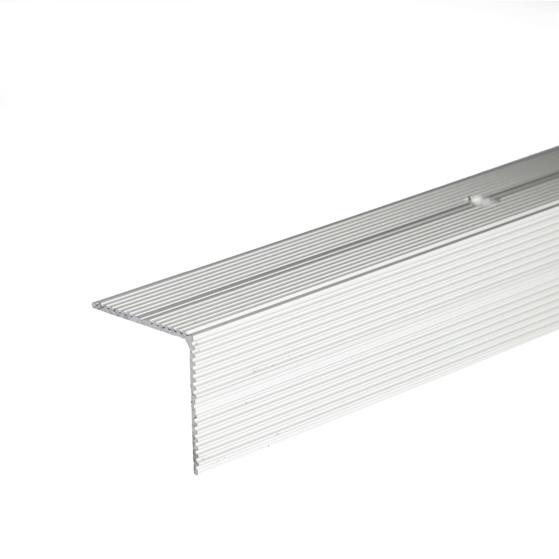 900mm X 35mm X 35mm Anodised Aluminium Anti Non Slip Stair