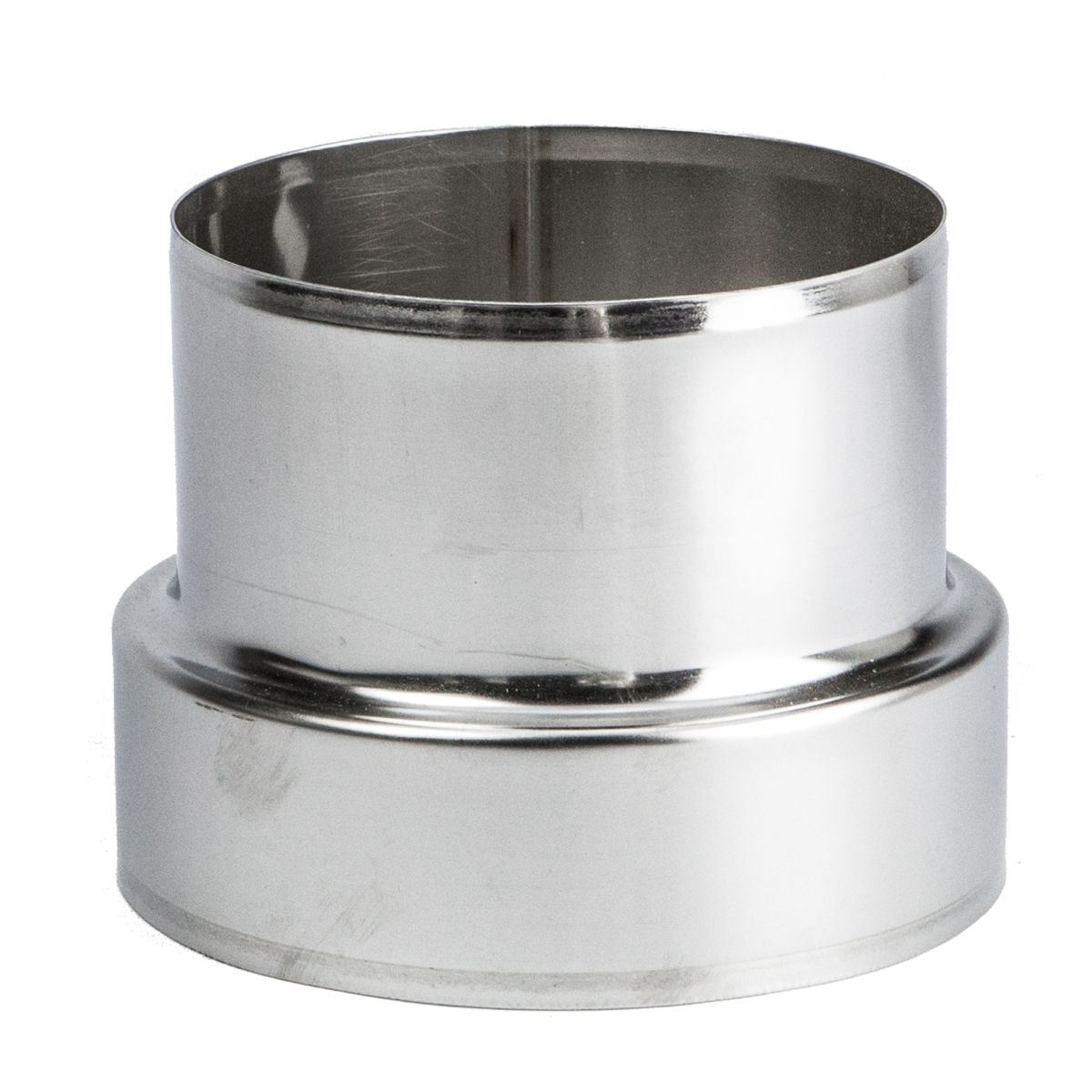 Stainless steel pipe connector adaptor chimney flue liner Liner 5 50 x 1 32