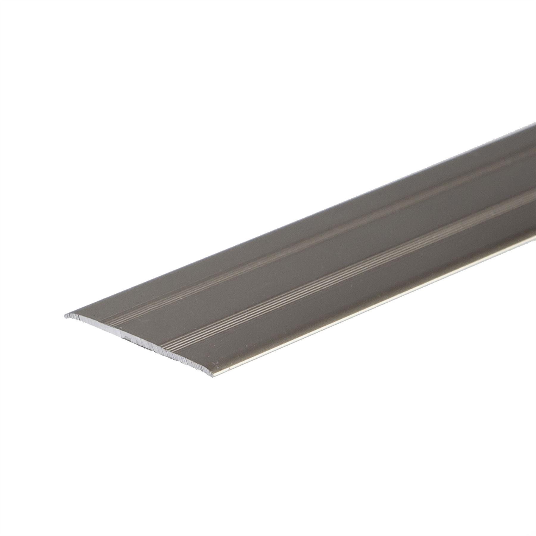 self adhesive anodised aluminium floor bar edge trim. Black Bedroom Furniture Sets. Home Design Ideas