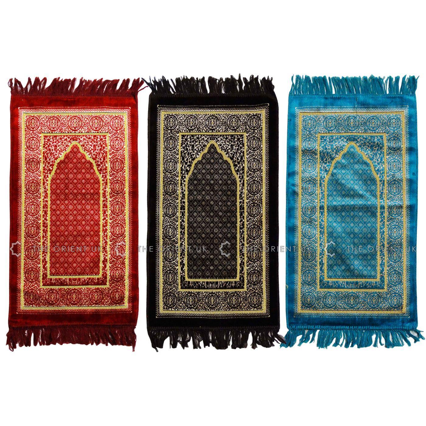 Turkish Kids Children Prayer Mat Islamic Pray Rug Namaz
