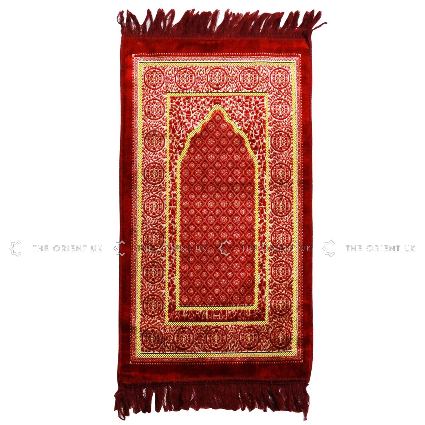Prayer Rug Company: Kids Pray Mat Medium 78x40cm Salah Sijada Namaz Rug Mat