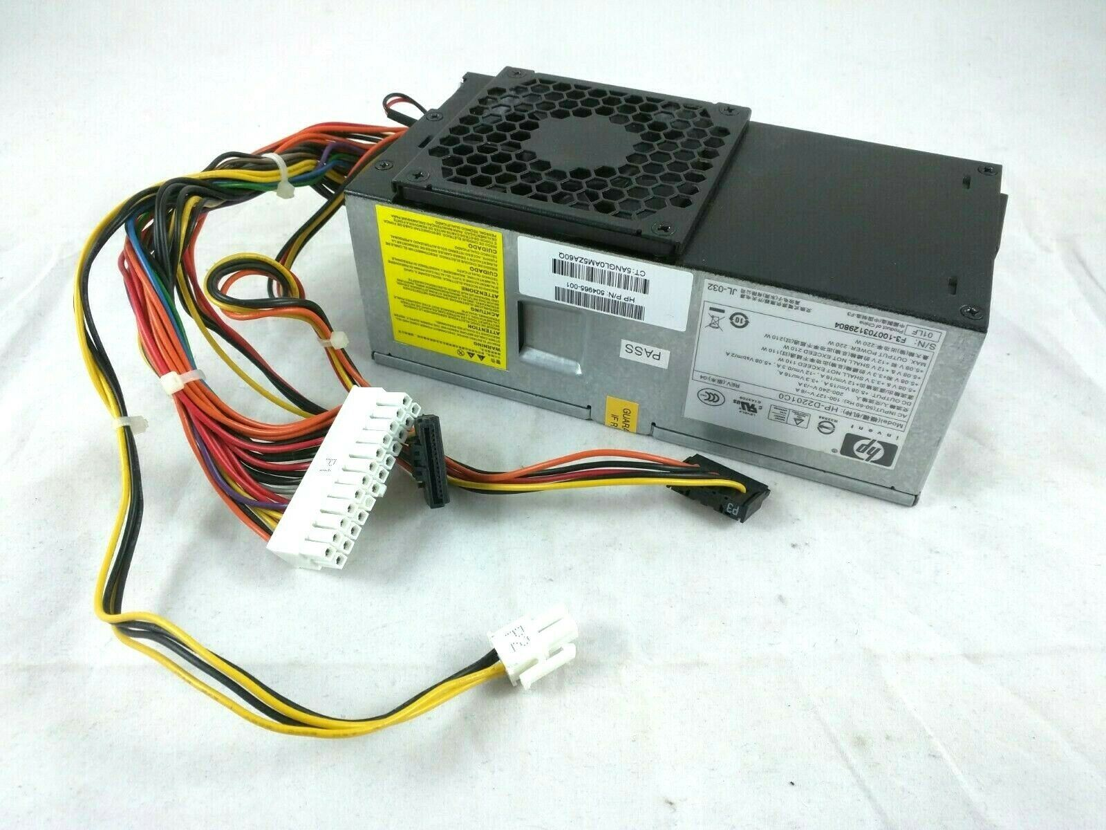SFF Replacement 220W Power Supply Unit 504965-001 HP-D2201C0 HP Pro 3130