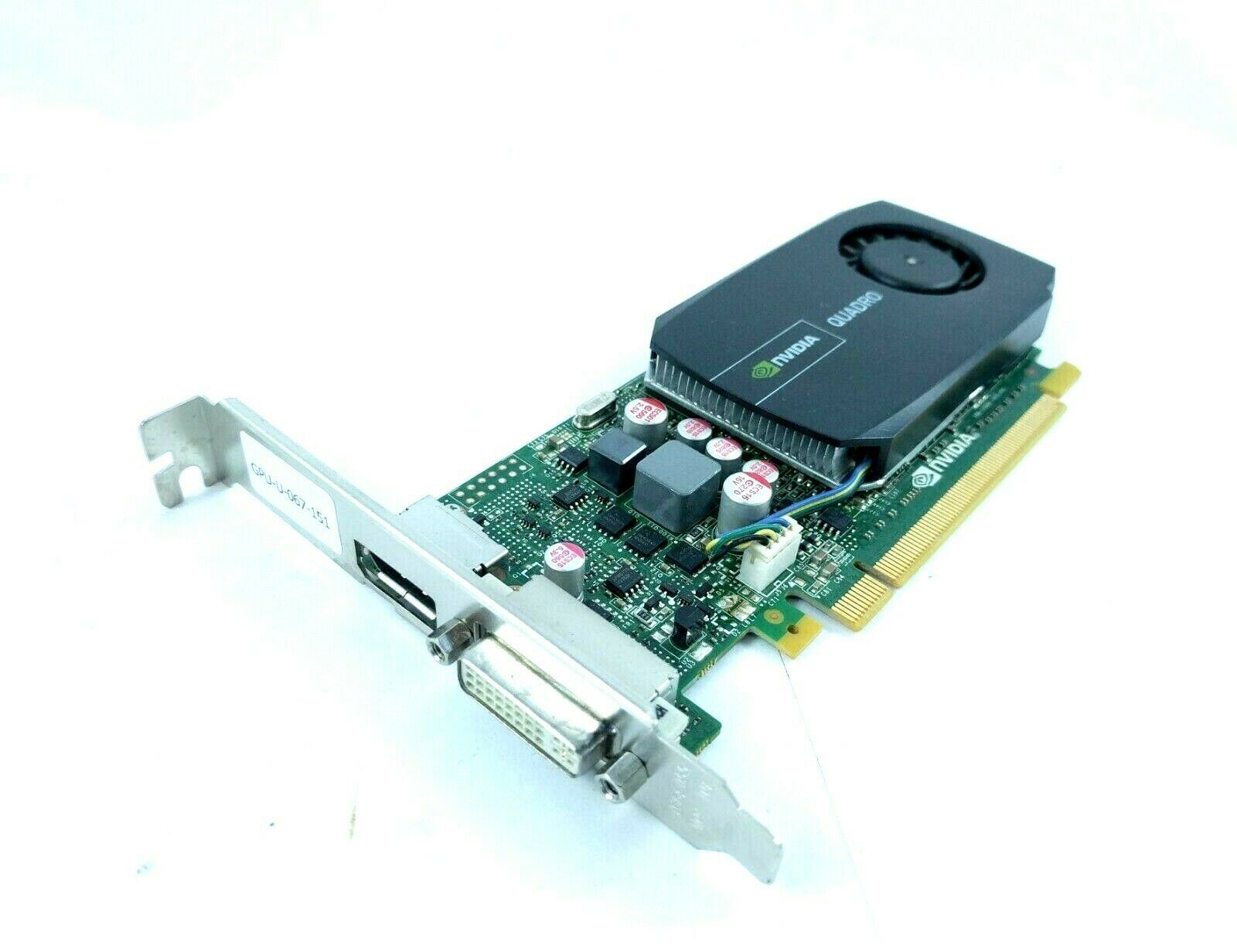 Dell NVIDIA QUADRO 600 PCI-E x16 1GB GDDR3 DVI Graphics Video Card 5YGHK