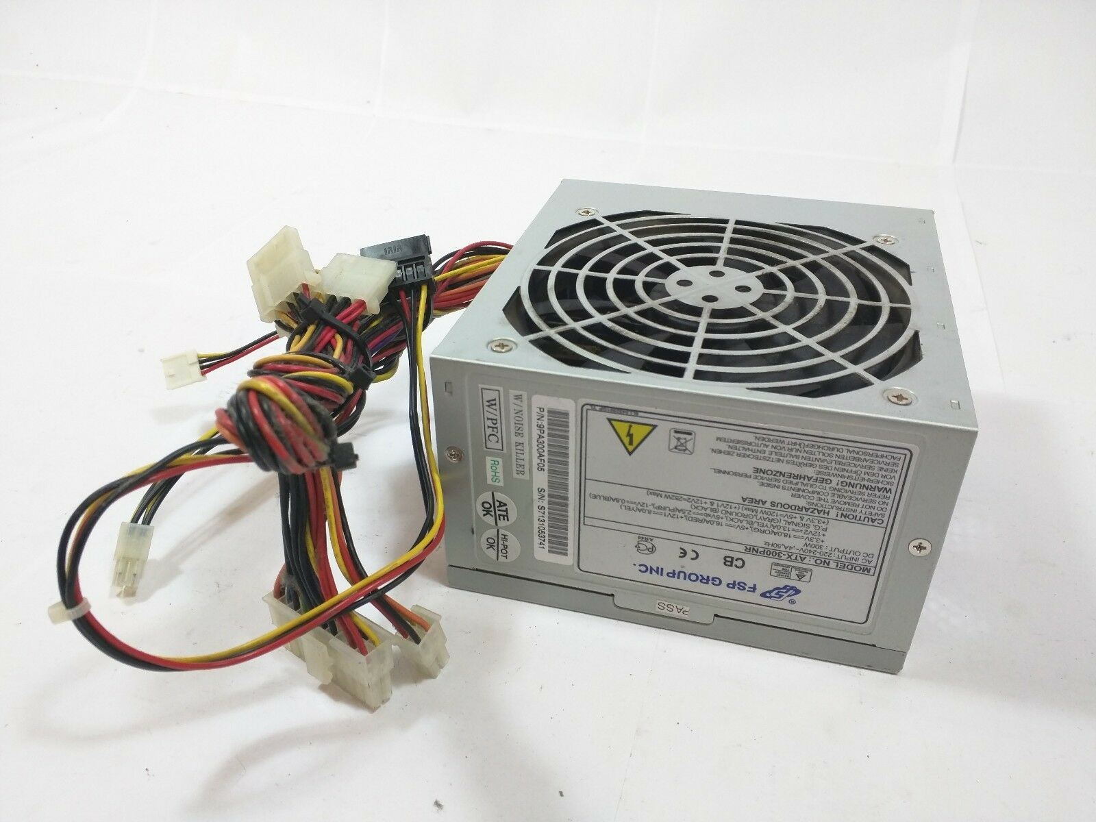 Details about FSP Group ATX-300PNR 9PA300AF05 300W ATX Power Supply