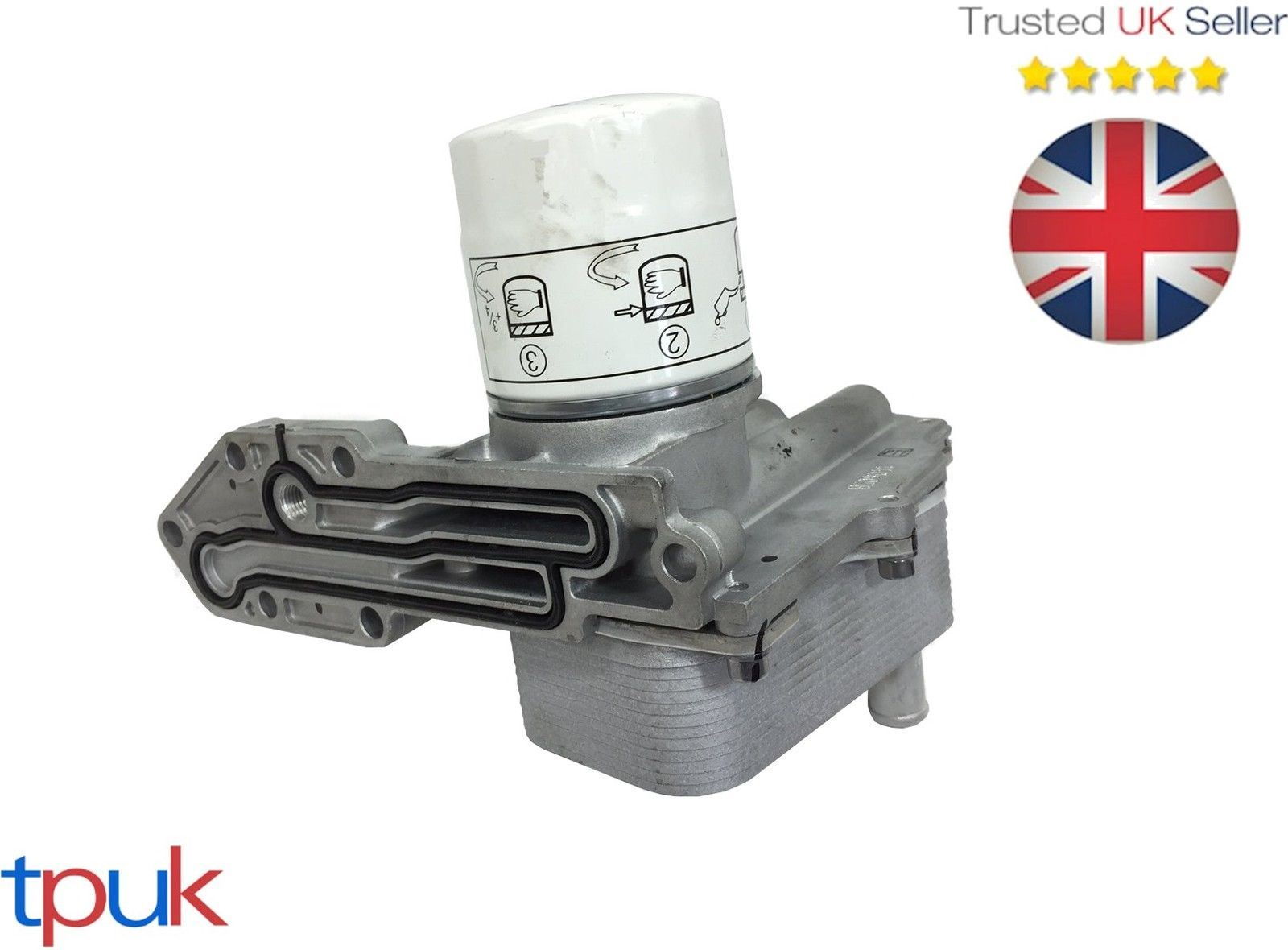 LAND ROVER DEFENDER 2.4 2.2 4X4 2006 ON MODIFIED COMPLETE OIL COOLER /& FILTER
