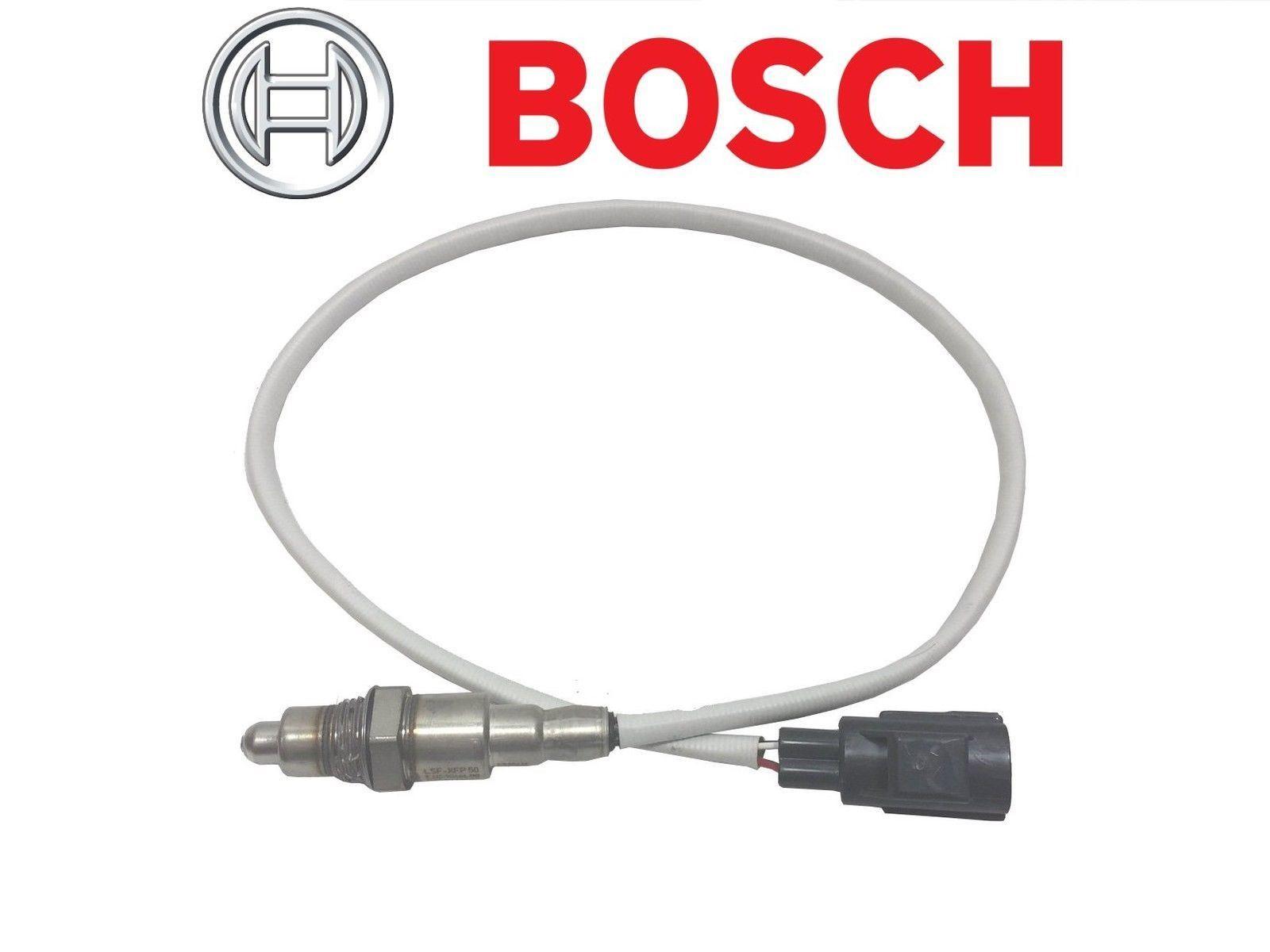 Bosch O2 Sensor Wiring Colors