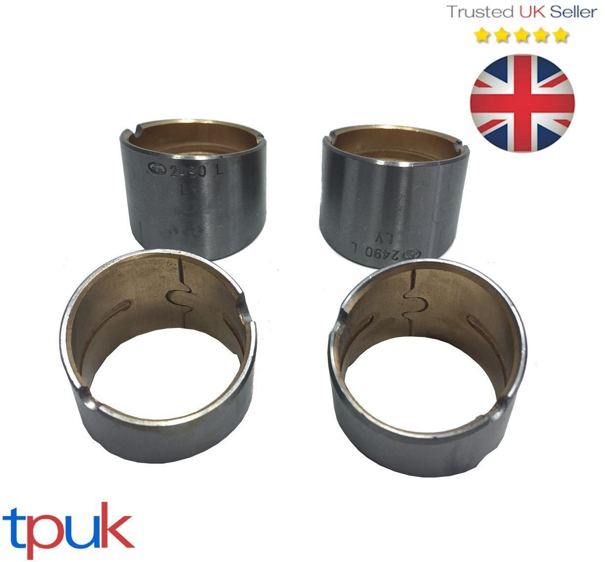 FORD TRANSIT CONNECT 1.8 CON ROD BIG END BEARINGS SHELLS PER 1 SET